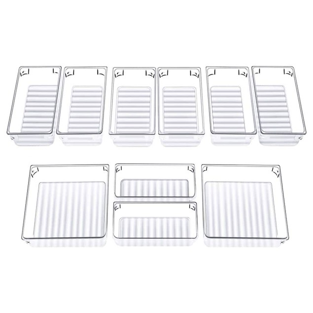 Drawer Organiser Trays - Set of 12 | Pukkr
