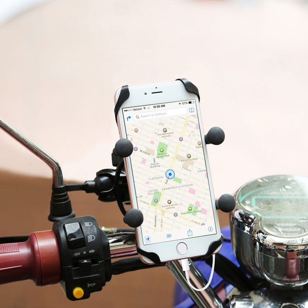 Motorcycle Handlebar Mount Holder