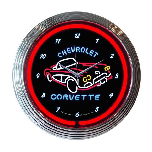 Neonetics Chrysler Pentastar Neon Clock