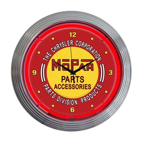 Neonetics Gm Pontiac Service Neon Clock