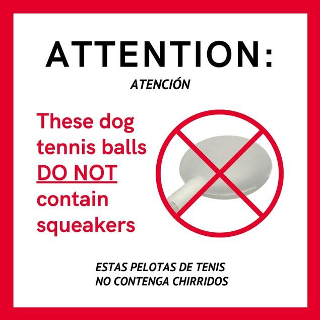 "Midlee Mini Dog Tennis Balls, Red, 1.5"" 12-Pack"