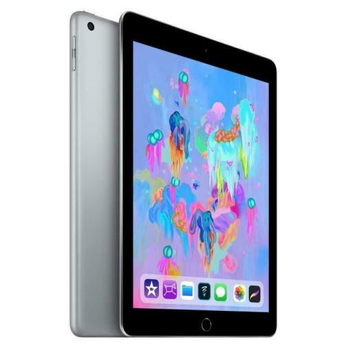 """Apple iPad 6 (6th Gen) - 128GB - Wi-Fi - 9.7"""" - Space Gray - 2018 - MR7J2LL/A"""