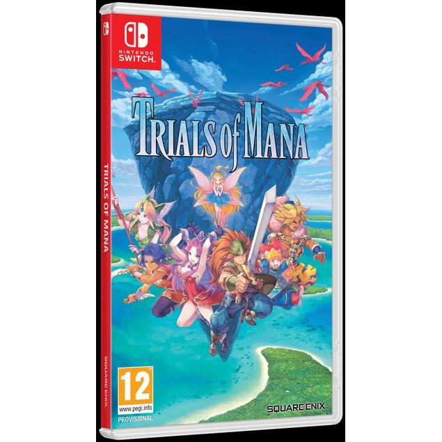 Trials Of Mana Nintendo Switch Game
