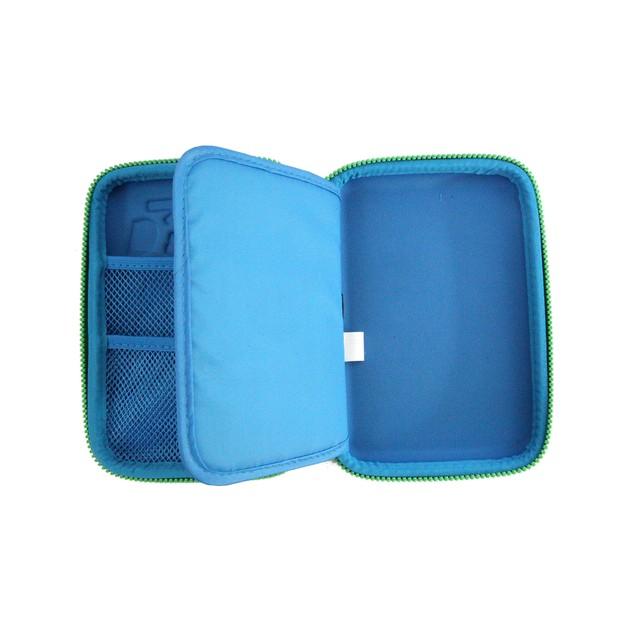 Smilykiddos Single Compartment Pencil Case Blue
