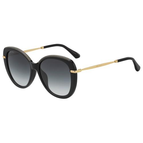 Jimmy Choo Womans Sunglasses JCHPHEBEFS AE2 Black/Gold    Roun/Oval Gradient
