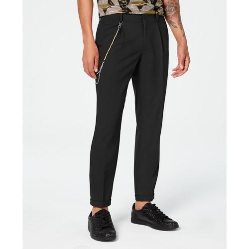 """INC International Concepts Men's Slim-Fit Pleated Pants Black Size 29"""""""