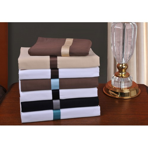 """Hotel Collection 100% Premium Cotton Bed Skirt, 300-Thread-Count, 15"""" Drop"""