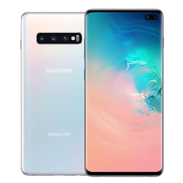 Samsung Galaxy S10+, Unlocked, White, 512 GB, 6.1 in Screen