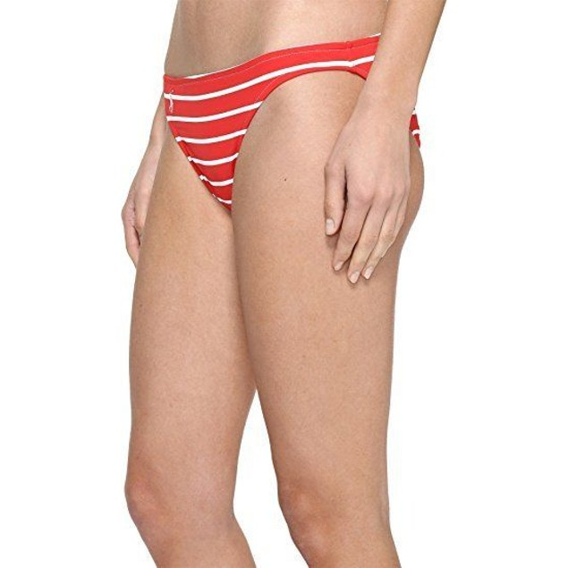 Polo Ralph Lauren Womens French Stripe Taylor Hipster Paris Red SM One
