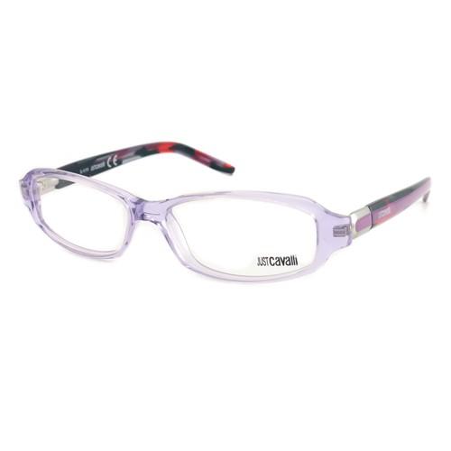 Just Cavalli Women Eyeglasses JC 372 078 Bronze 54 15 135 Semi Rimless Rectangle