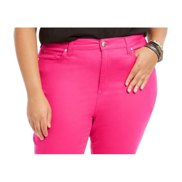 Celebrity Pink Juniors' Ankle Skinny Jeans Pink Size 0