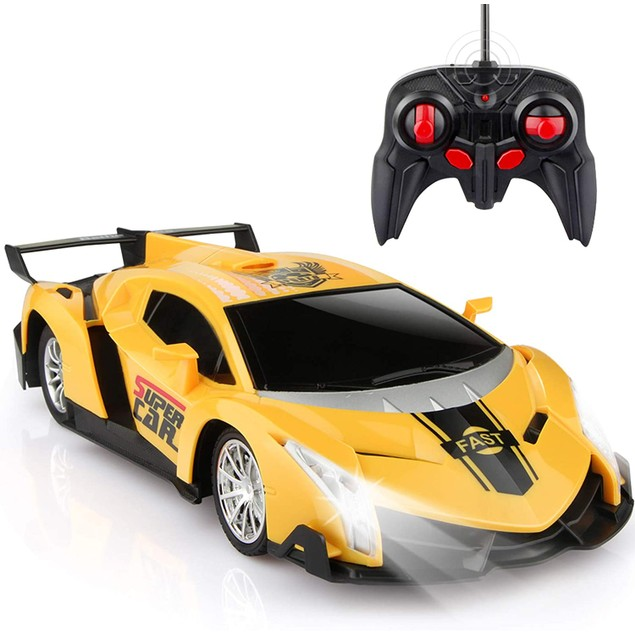Electric Remote Control Car with Lights and Controller