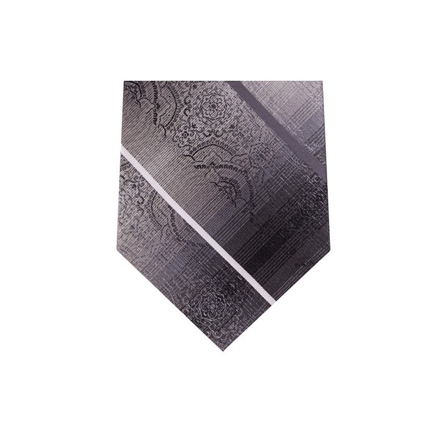 Van Heusen Men's The Girbaran Medallion Tie Black Size Regular