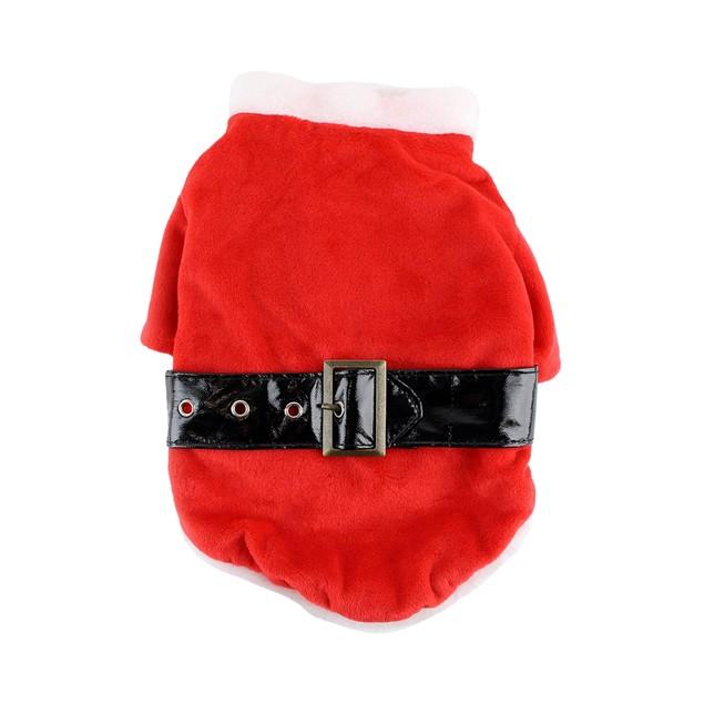 Midlee Dog Santa Claus Costume
