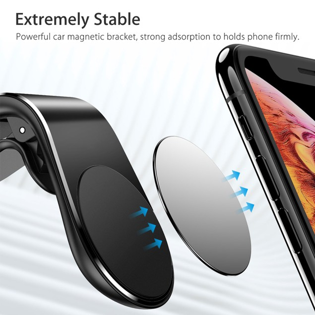 Universal Magnetic Car Air Vent Mount for Smartphones