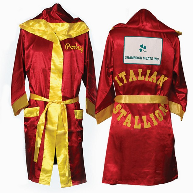 Italian Stallion Red And Gold Rocky Robe