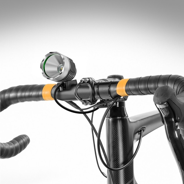 Kobra Ultra-Bright Waterproof Bike Headlight Kit w/ Bonus Tail Light