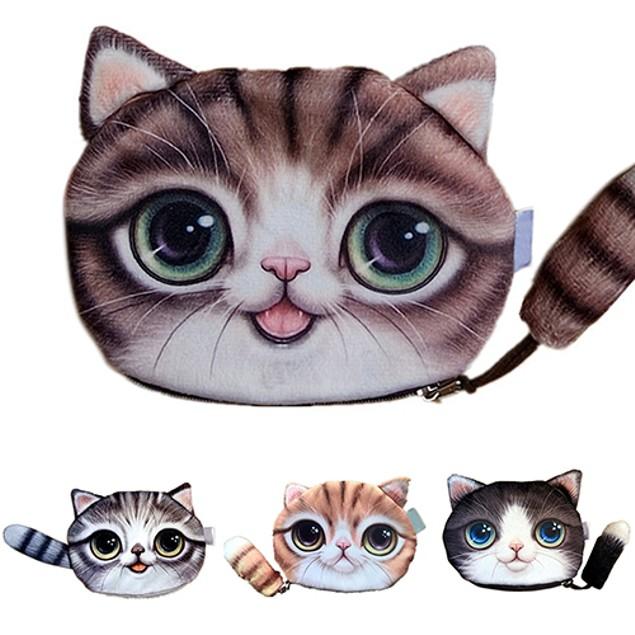 Cute Cat Kids Wallet