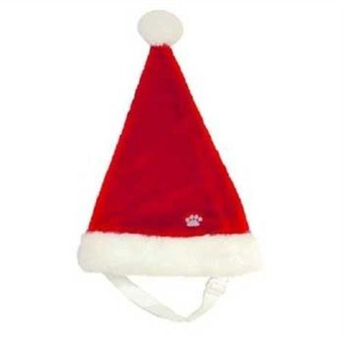 Outward Hound Santa Hat Christmas Pet Accessory, Small