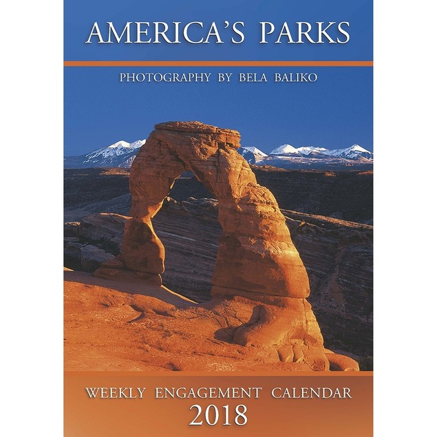 2018 Baliko America's Parks Softcover Weekly Planner