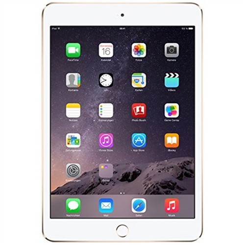 "Apple iPad Mini 4, MK9J2LL/A, 7.9""/A8/64GB, Gold/White (Refurbished)"
