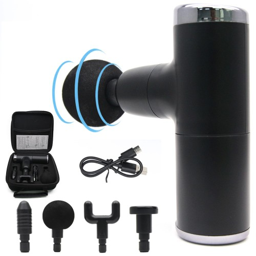 Mini Massage Gun Portable Handheld Body Massager Pain Relief for Home Gym Office