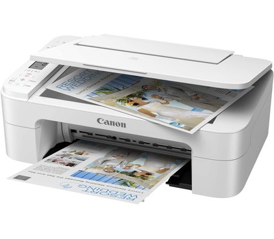Canon TS3322 Wireless All-in-One Printer - NO BLACK INK Includes Cables Was: $119.99 Now: $59.99.