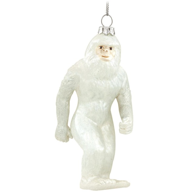 Abominable Snowman Yeti Christmas Tree Ornament