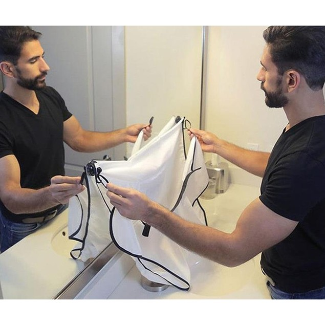 Portable Clean Beard Styling Haircut And Shaving Cloth