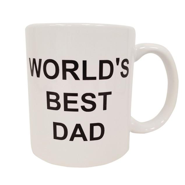 World's Best DAD 11 oz Coffee Mug