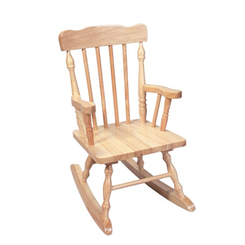 Gift Mark Childs Spindle Rocking Chair (Natural)