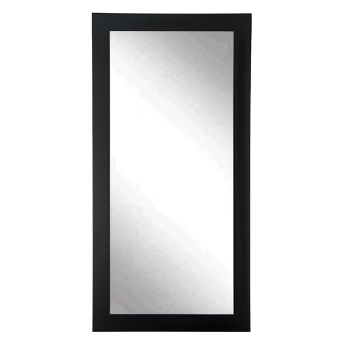 """BrandtWorks Durable Commercial Value Black Lobby Oversized Mirror 32"""" x 71"""""""