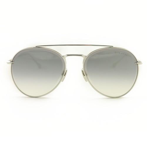 DITA Sunglasses Axial DTS 502 57 01 Silver Dark Grey