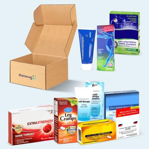 Renewgoo The GOO Box - Over-the-Counter Medicine Edition (Compact)