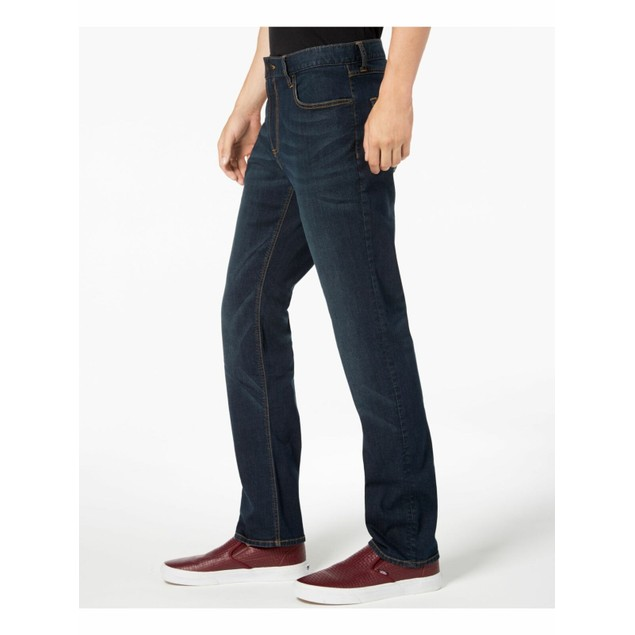 American Rag Men's Straight-Fit Jeans Blue Size 32X34