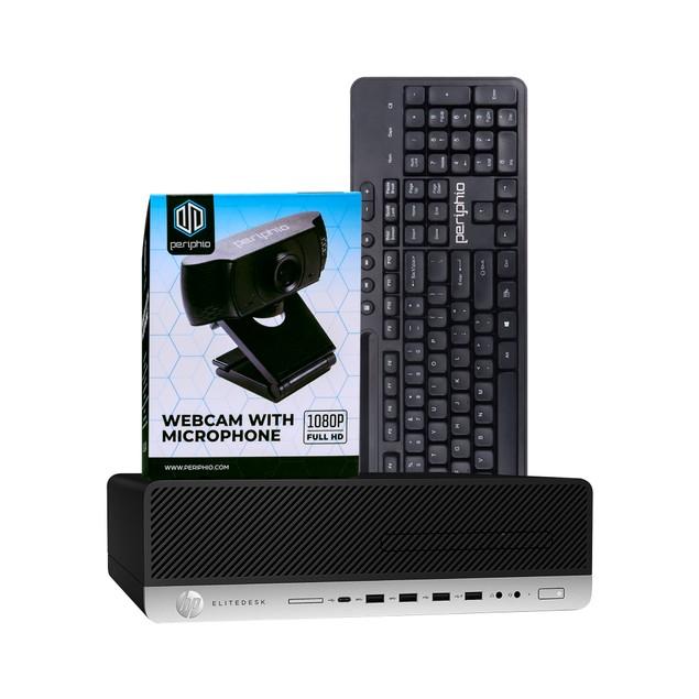 HP 800G3 Dekstop Intel i5 8GB 240GB SSD Windows 10 Professional No Monitor