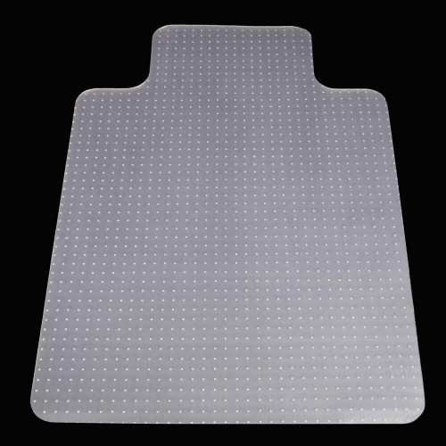 """New Thickening 36""""x48"""" Chair PVC Floor Mat Home Office with Lip for Carpet"""
