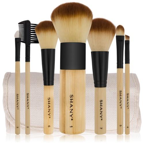 SHANY 7pc Bamboo Brush Set - Vegan Brushes
