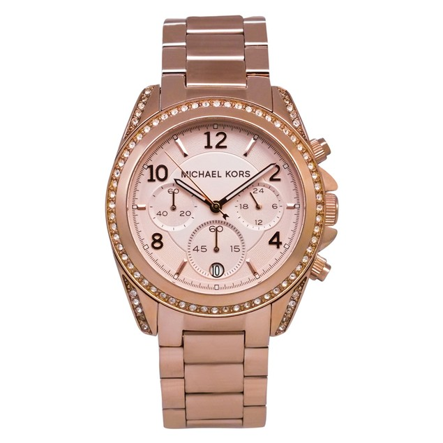 Michael Kors Women's Blair Rose gold Dial Watch - MK5263