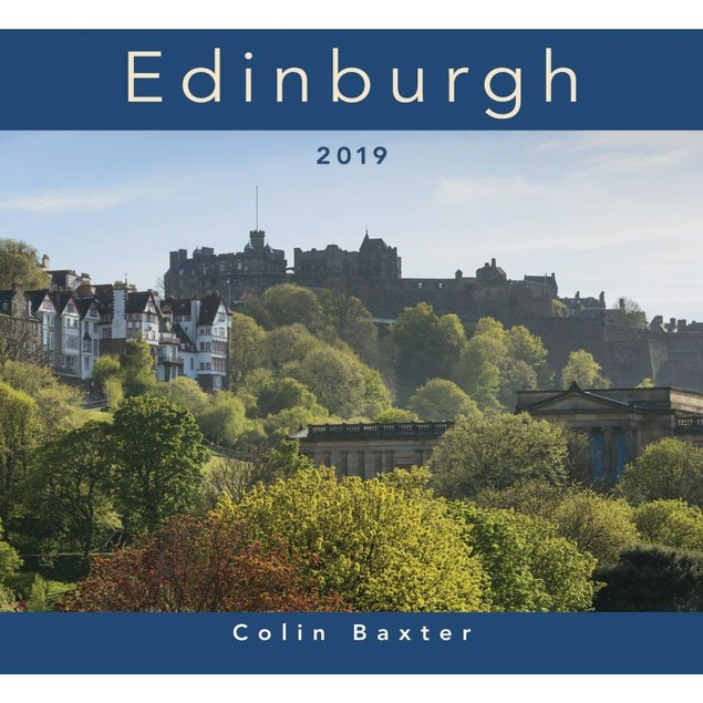 Edinburgh Wall Calendar, Scotland by Colin Baxter Photography
