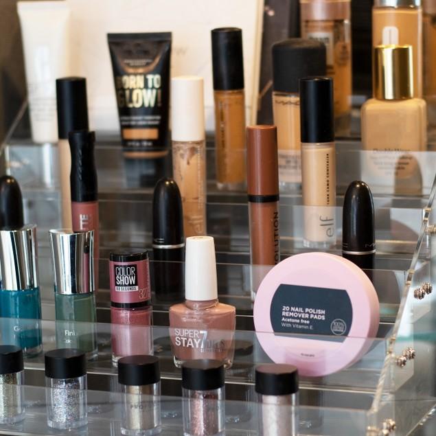 6 Tier Acrylic Makeup Organiser | Pukkr