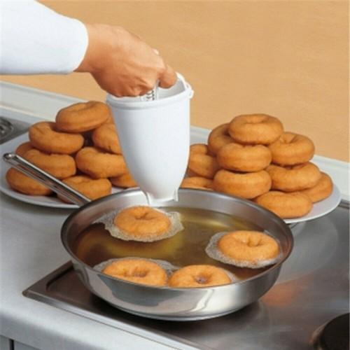 Donut Doughnut Maker Batter Dispenser DIY Baking Tools