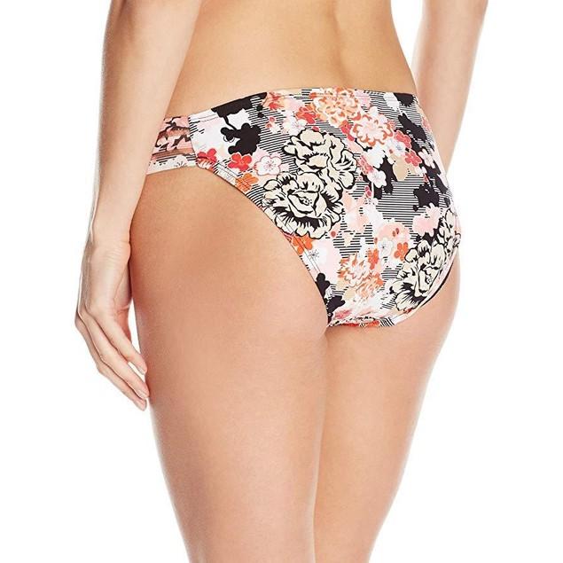 Kenneth Cole New York Women's Hipster Bikini Swimsuit Bottom Sz: L