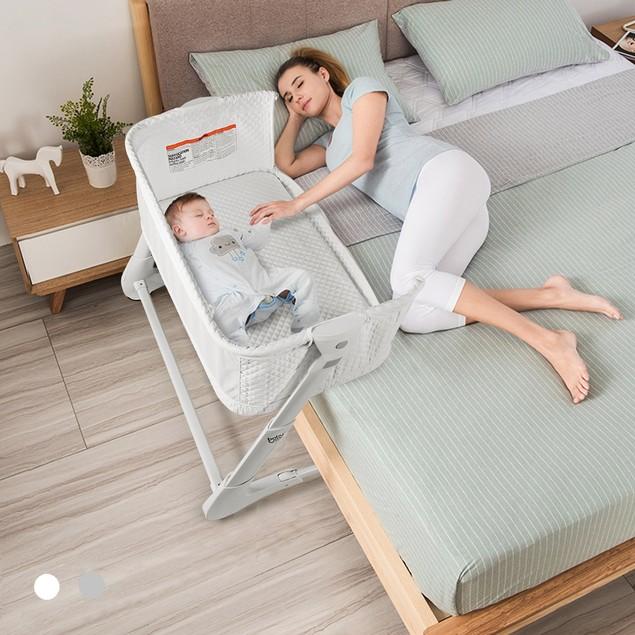 Babyjoy Baby Side Bassinet Bedside Sleeper