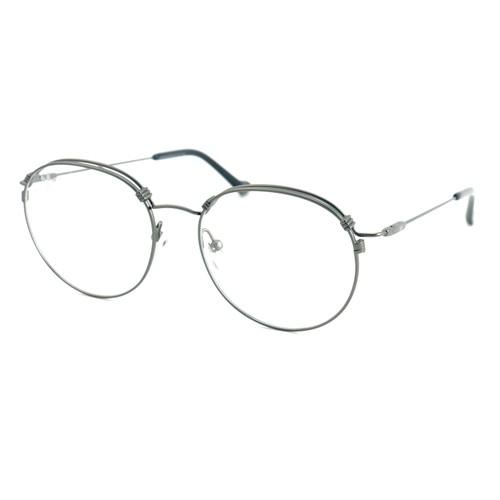 Adidas Unisex Eyeglasses Gunmetal Round AOM013O.078.000 Full Rim