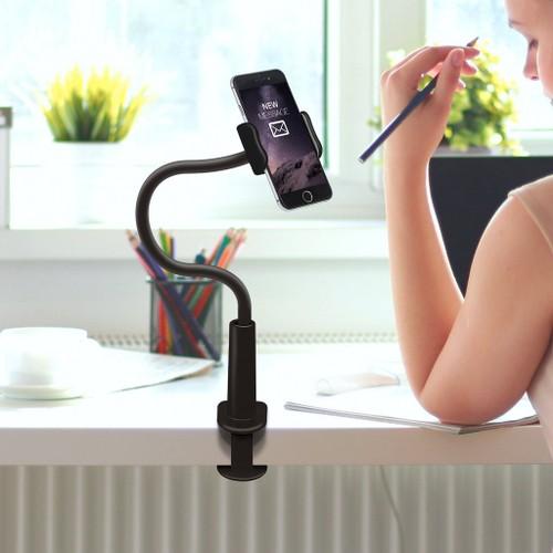Aduro Solid Grip Universal Adjustable Gooseneck Phone Mount
