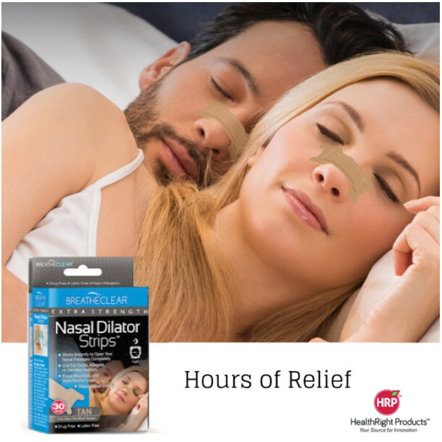 Breathe Clear®  Nasal Strips - Ultra Performance CLEAR