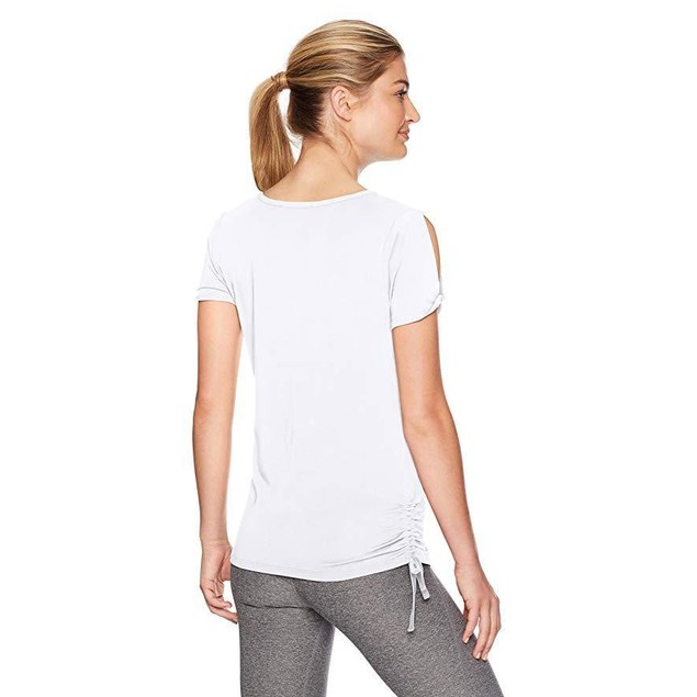 Ivanka Trump Women's Rushed Tee Shirt, White, XL