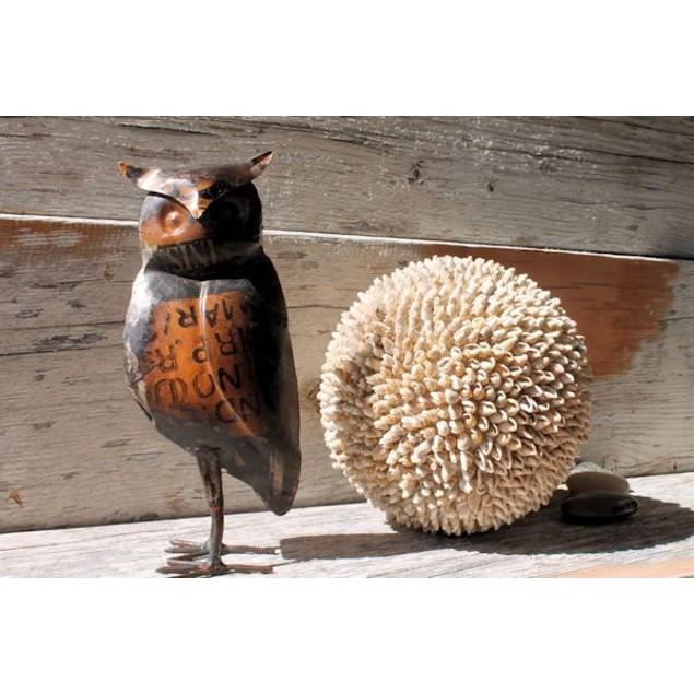 Reclaimed Metal Owl