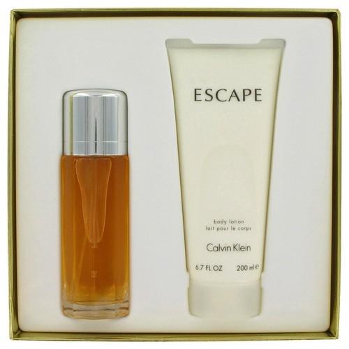 ESCAPE Gift Set -- 3.4 oz Eau De Parfum Spray + 6.7 oz Body Lotion